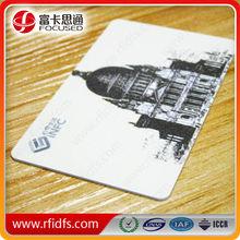 custom credit card size em4200 rfid smart card