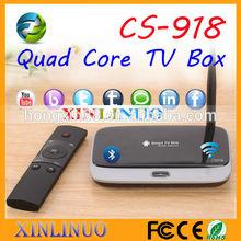 Factory Best price CS918 RK3188 Android Google Quad Core Remote Control wifi Mini PC