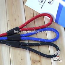 wholesale nylon dog leash hot selling dog collar and leash