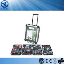 186 pcs aluminum case tool set 188pcs tool set