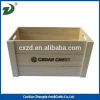 Cheap wholesale Universal Wooden Storage Box,Storage Crate
