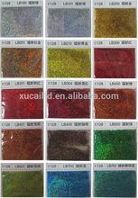 glitter powder catalogue, color card page01