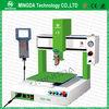 Professional SMT Silicone Adhesive Robot Glue Dispensing Machine / Benchtop CNC Robot Dispensing System