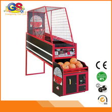 2015 newest hot sale coin operated hoop fever shoot basketball game machine for sale