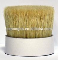 Pig Hair Boar Bristles,Chungking Double two times Boiled Bristles 90% 70%,60% tops, White bristle/Black Bristle/Grey Bristle