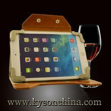 Unique computer case new design tablet case, for ipad mini retina case leather real