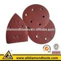 lixadeira de abrasivos velcro disco de lixa para madeira