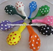 Christmas & new Year decoration balloon latex polka dot balloon