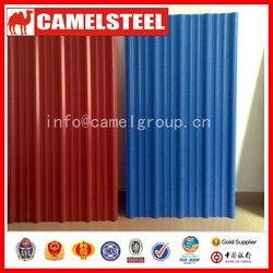 china camelsteel prepainted zinc aluminium roofing sheet