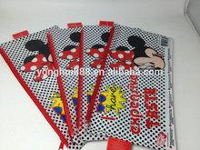 Minne Mouse double zipper pencil case