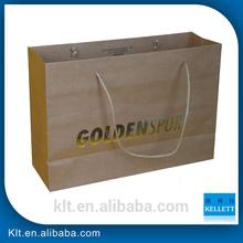 brown gift paper bag manufacturer