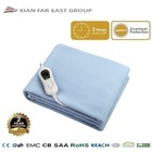 CE GS CB SAA Hear Protect 220V Washable Electric Heating Blanket Electric Bed Warmer
