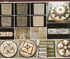 Lovehome Natural stone waterjet medallion mosaic tiles colourful foshan mosaic for wall and floor