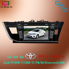 car dvd player right driver for toyota corolla 2014