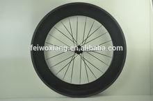 Pneu de carbone haut profil 700c racing vélo en carbone roues, roues en carbone 88mm