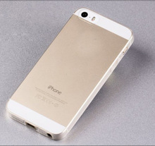 Ultra Thin Transparent Hard Plastic Case Cover Phone Shell For iphone 5 5S