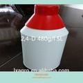 Selectivo weedicide 2 4-d 480g/l amina sl de hoja ancha para el control de malezas