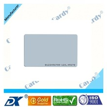 White 13.56mhz MIFARE Card for wholesales