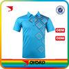 China custom dry fit polyester blue diamond golf shirt
