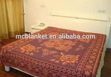 low price good quality cotton thread bedspread