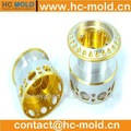 Hastelloy de precisión de mecanizado cnc/personalizado de silicona muñeca/de precisión de mecanizado cnc
