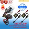AC/DC HID xenon kits 35w /55w/75w 3000k 4300k 5000k 6000k 8000k 10000k 12000k 30000k