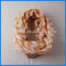 Polyester women round neck warmer scarf