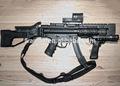 Pop de plástico juego de imitación sniper rifle pistola de juguete/réplica de armas de fuego