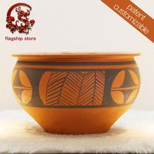 P016 Antique home decor ceramic urn