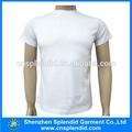 2014 china importação camisetas atacado plain white t-shirts para o homem de roupa