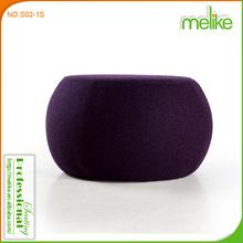 Pouf design leisure sofa Dula ottoman cashmere sofa