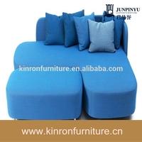 CSY-S7096 Hot Sale High Quality Free Match Sky blue Mini Sofa