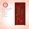 High Quality natural wooden doors in foshan
