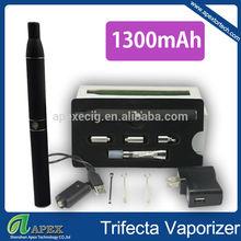 Hottest selling Huge triple use vaporizer dabber glass-globe pen vaporizer