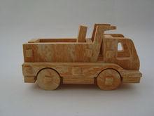 eva foam funny wood grain toy trucks