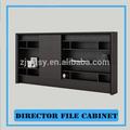diseño de noticias director de la oficina de presentación del gabinete de madera de la materia
