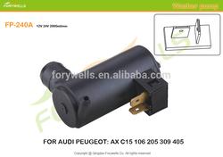 240A, auto windshield washer pump for au di peugeot AX C15 106 205 309 405 windshield washer pump OE