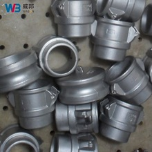 customized stainless steel precision casting metal pipe fittings