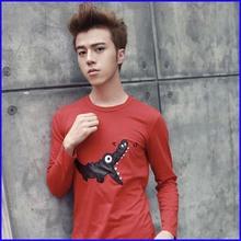 Latest t shirt designs for men long sleeve t shirt wholesale cheap men big size clothing