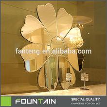 Flower Mirror Bedroom Furniture Set Modern Glass Dresser Mirrors For Sale