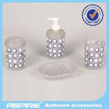 Straw biological graceful bathroom set