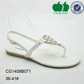 diseños de tacón plano de verano de la mujer zapatos de vestir