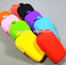 Colorful Silicone mobile phone Purse/bag/Handbag/Wallet