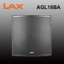 "LAX AGL18BA professional indoor powered subwoofer /1 x 18"" active bass subwoofer / audio powered loudspeaker"