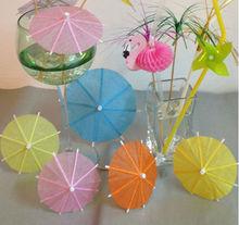 Bamboo Cocktail Umbrella Toothpicks