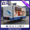 P10 full color outdoor led advertising screens trailer