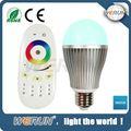 Yeni rgb kısılabilir 6w rgb led ampul ışığı, wifi kumanda led aydınlatma