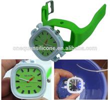 silicone watch new design cheap custom logo watch