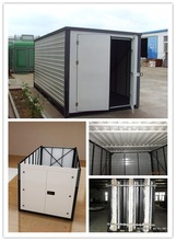 16ft/19ft portable foldable storage container house