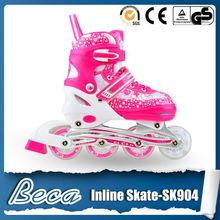 2 in 1 adjustable kids roller skates with knee pads